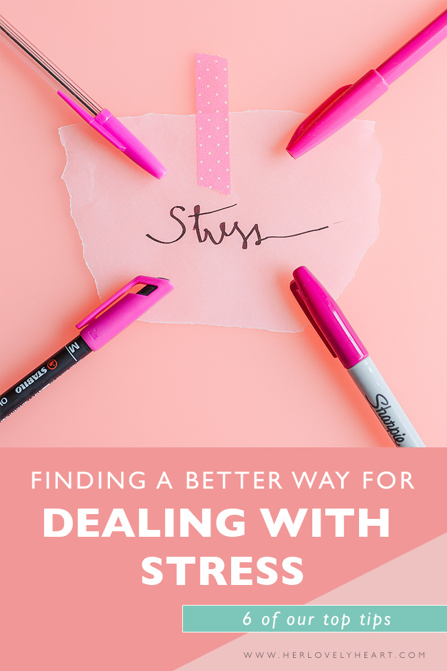 Finding a better way to deal with stress. Click through to read!