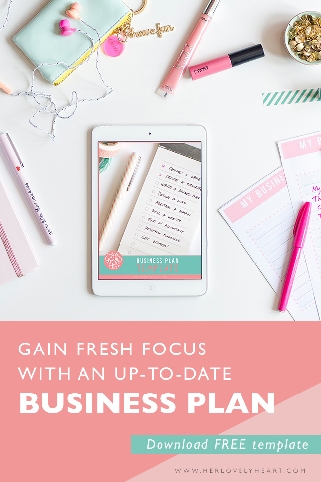 Gain Fresh Focus With An UpToDate Business Plan  Free Template