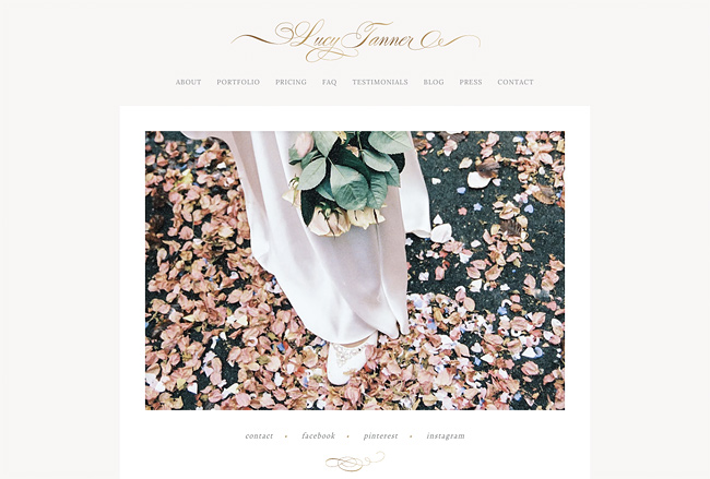 Lucy Tanner website.