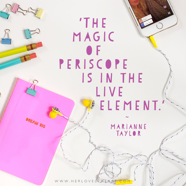 Why & how to get started on Periscope. Click through to read!