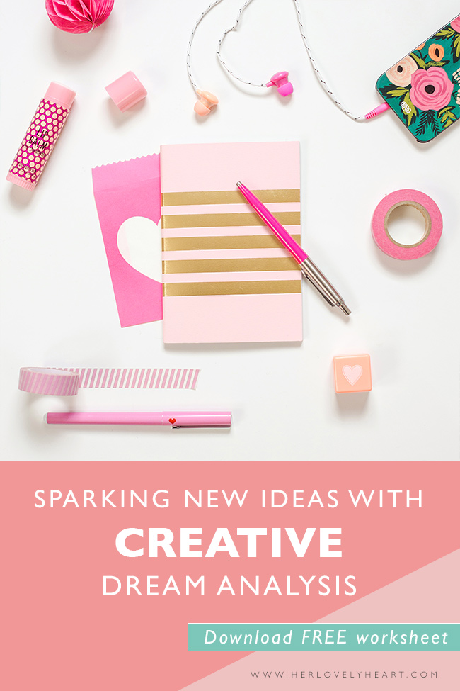 Sparking new ideas with creative dream analysis. Click through to read & download a free worksheet!
