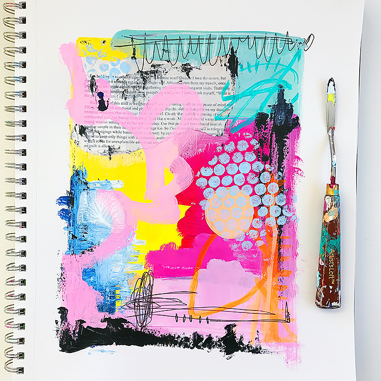 PROfile interview with mixed media artist Samantha Russo on Her Lovely Heart. Click through to read!