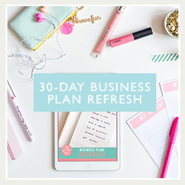 30 day business plan refresh