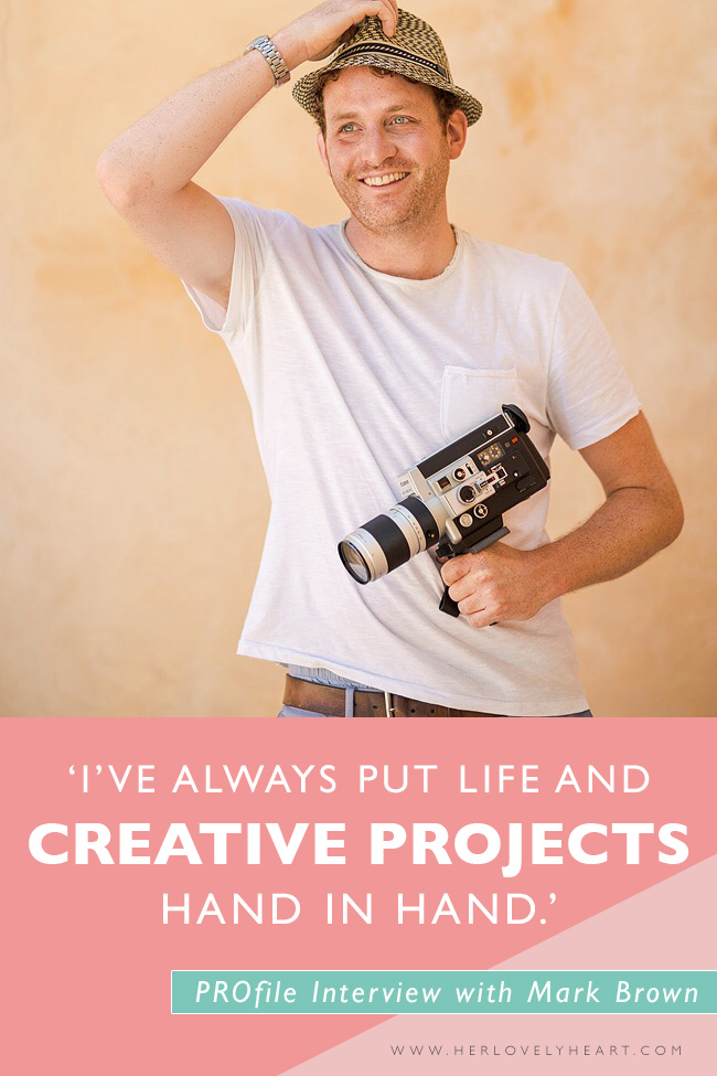 PROfile interview with filmmaker Mark Brown. Click through to read!