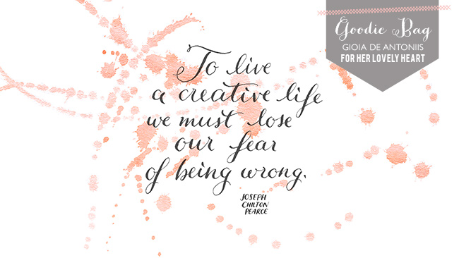 Her Lovely Heart Quote of the Week by Joseph Chilton Pearce