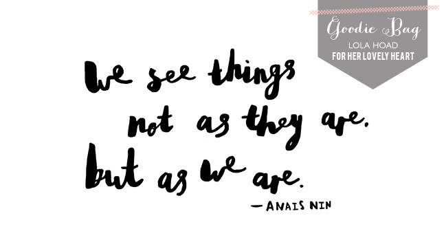Free Anais Nin quote wallpaper hand lettered for her lovely heart by Lola Hoad
