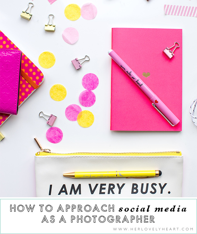 How to approach social media as a photographer. Click through to read.
