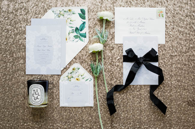 Rose & Ruby Margery Suite Wedding Invitation Menu 3