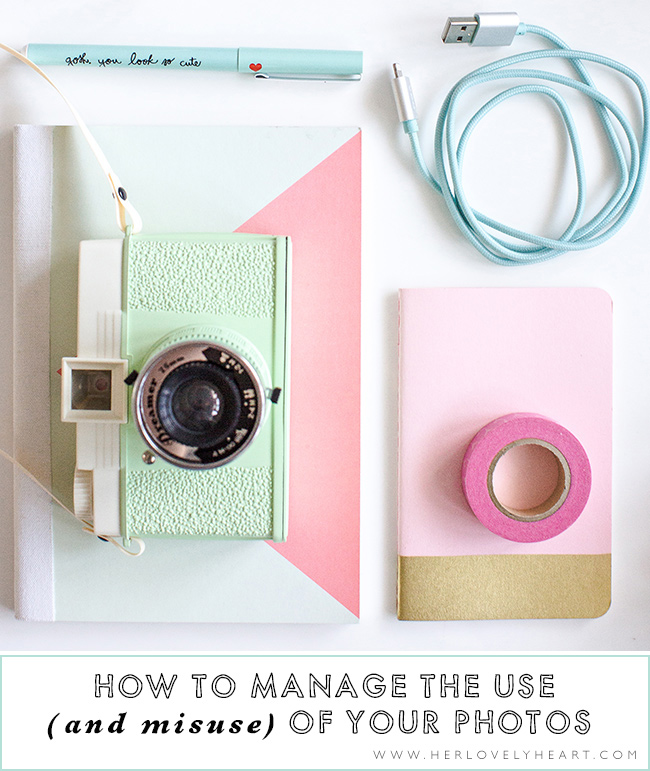 How to manage the use (and misuse) of your photos? Click through to read.