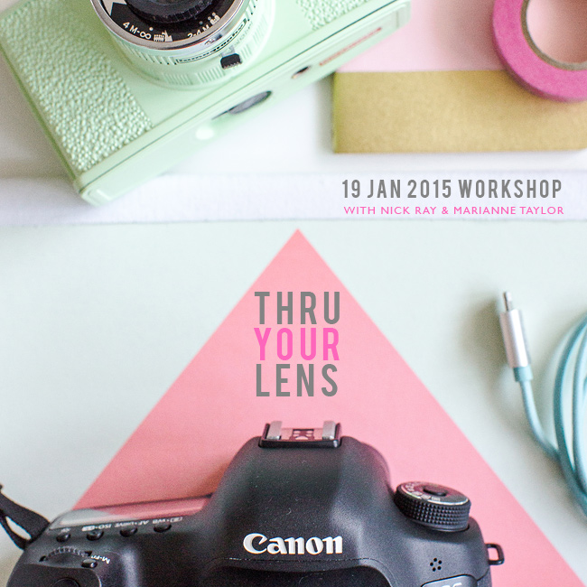 Thru Your Lens photography workshop January 2015.