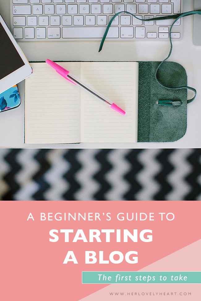 Beginners guide to starting a blog. Click through to read.