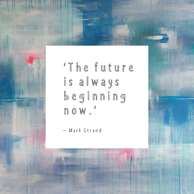 Free Quote Desktop Wallpaper Designed By Marianne Taylor Fascinating The Future Is Now Quote
