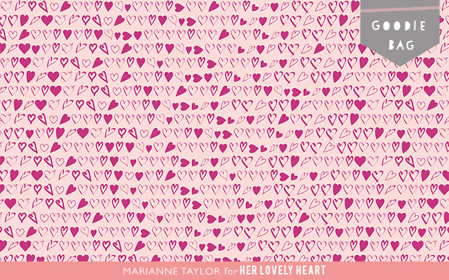 Free desktop wallpaper by Marianne Taylor for Her Lovely Heart. Click through to download from herlovelyheart.com
