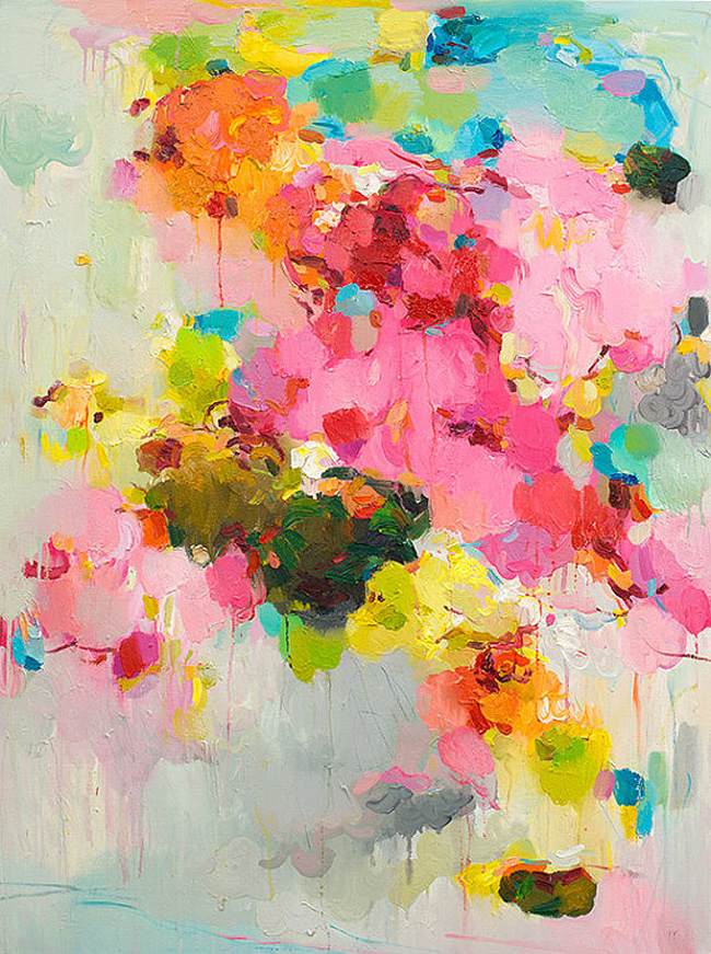 Colourful art we're loving right now. Click through for details!