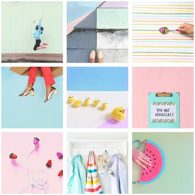 Visually inspiring Instagram accounts selected by Her Lovely Heart.