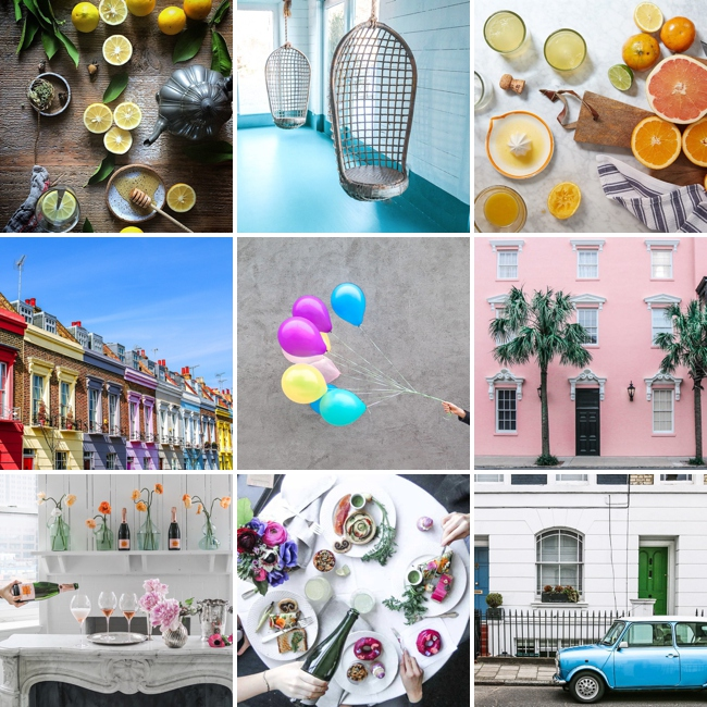 Visually inspiring Instagram accounts. Selected by Her Lovely Heart.