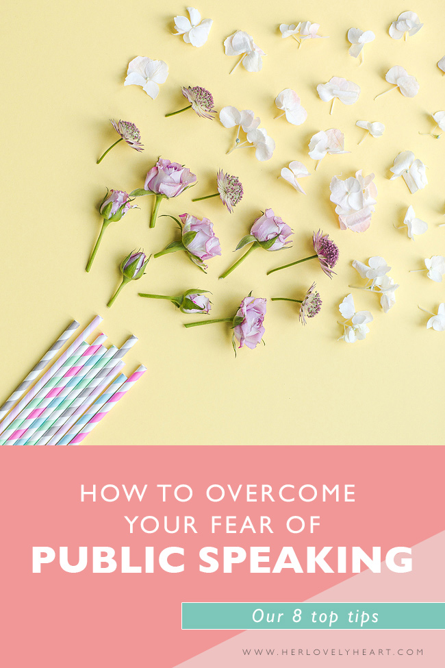 How to overcome your fear of public speaking. Click through for our top tips.