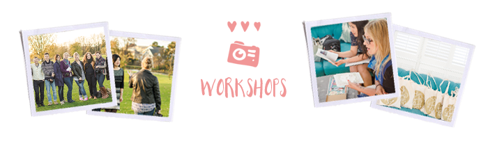 Photography workshops for introverts.