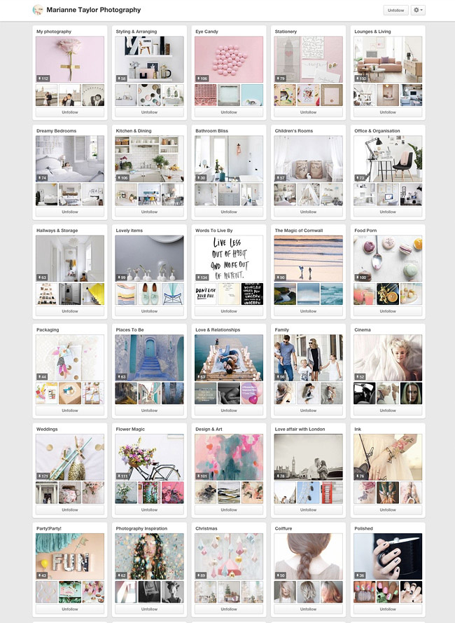 Marianne Taylor Photography on Pinterest.