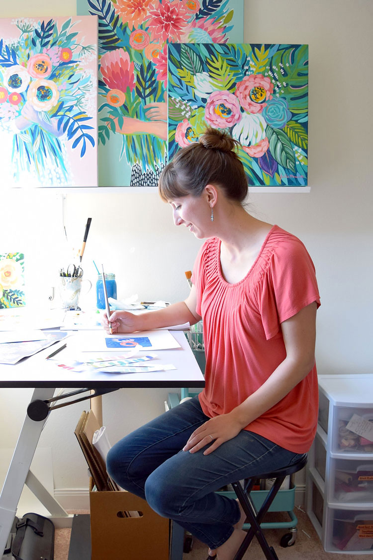 PROfile interview with artist Julie Marriot for Her Lovely Heart. Click through to read!
